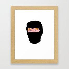 Trump Terror Framed Art Print