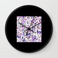 pills Wall Clocks featuring Pills? by Dora Birgis