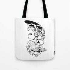 RETRO SILENCIO Tote Bag
