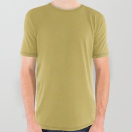 Mustard Stucco All Over Graphic Tee