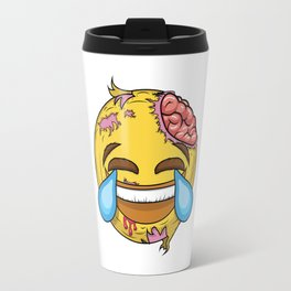 If the most famous emoji was a zombie Travel Mug