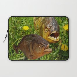 Crazyfish Alarm Laptop Sleeve