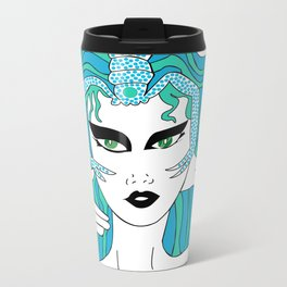 Scorpio / 12 Signs of the Zodiac Metal Travel Mug