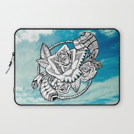 Rose Burst Laptop Sleeve