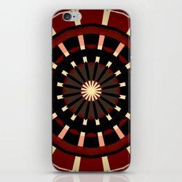 Dart Board Inspired Pattern Design iPhone Skin