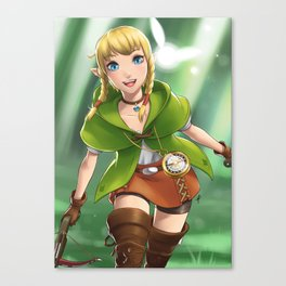 Need a hero Canvas Print