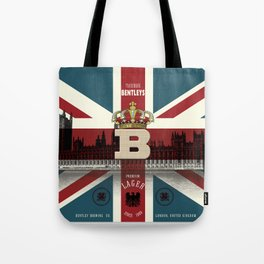 Bentley's Lager Tote Bag