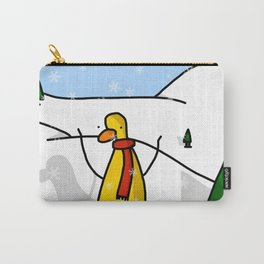 Snowy Scene | Veronica Nagorny  Carry-All Pouch