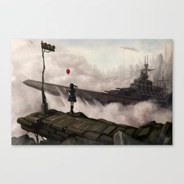 Salute the Gothic Fleet Canvas Print