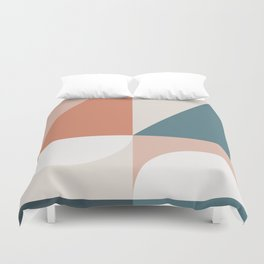 Cirque 02 Abstract Geometric Duvet Cover