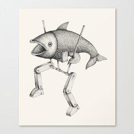 'Evolution I' Canvas Print