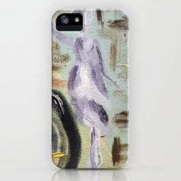 "Thumbnail of the painting  ""OH, ISADORA..."" #1 iPhone Case"