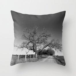 Tree No. 4 Throw Pillow