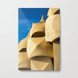 Gaudi sculpture Metal Print