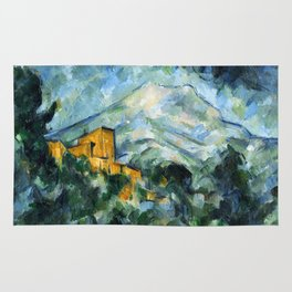 1906 - Paul Cezanne - Mont Sainte-Victoire and Château Noir Rug
