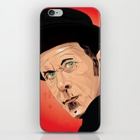 tom waits iPhone & iPod Skins featuring Tom Waits by Brian Madden