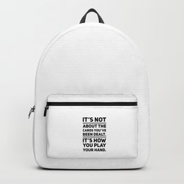Poker Game gift idea Backpack