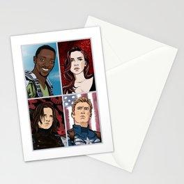Barbershop Quartet Stationery Cards