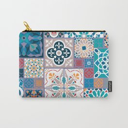 Geometric tiles Carry-All Pouch