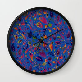 flower of my mind Wall Clock