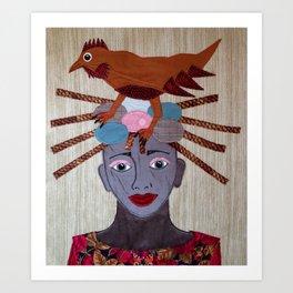 Hatching Ideas Art Print