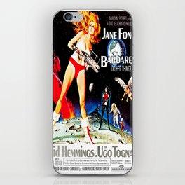 Go Barbarella! iPhone Skin