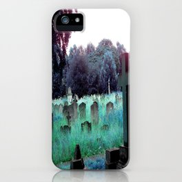 Meet You At The Cemetery Gates iPhone Case