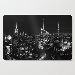 New York City B&W Cutting Board