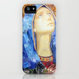 Our Lady of Broken Pieces iPhone Case