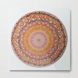 Harmony Mandala Metal Print