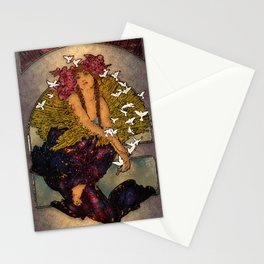 Angel Of Peace Stationery Cards