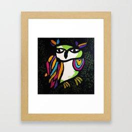 Magical Owl Framed Art Print