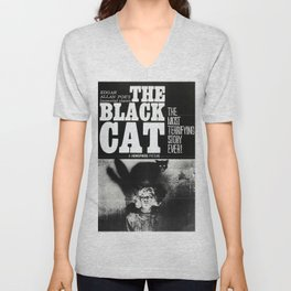The Black Cat Unisex V-Neck