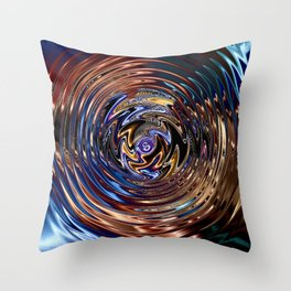 Urknall Throw Pillow