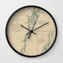 A survey of Lake Champlain, 1 Wall Clock