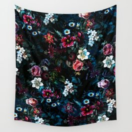 NIGHT GARDEN XI Wall Tapestry