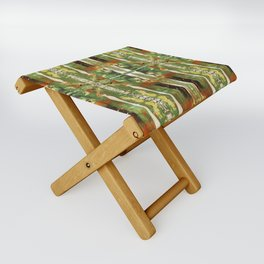 Out there in the woods, I feel peace........ Folding Stool