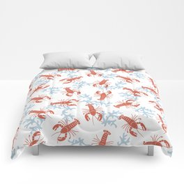 Lobster Toss Comforters