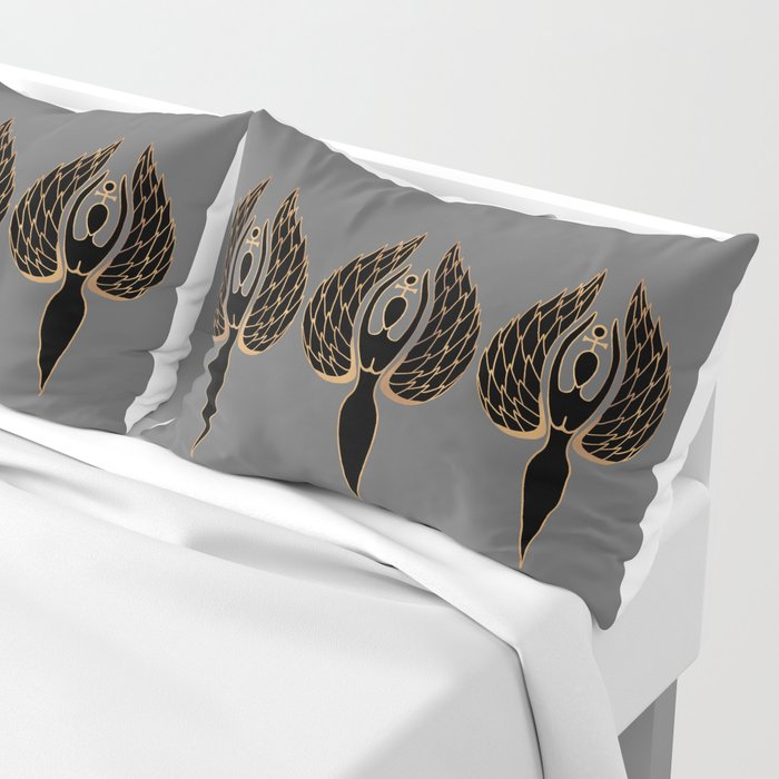 Woman Rising Pillow Sham
