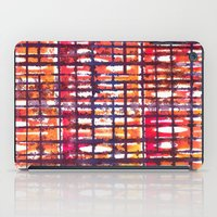 plaid iPad Cases featuring Plaid by Selkiesong