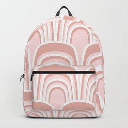 Gertie in Pink Backpack