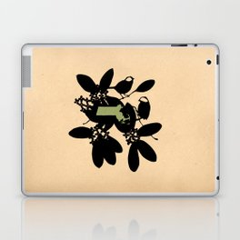 Massachusetts - State Papercut Print Laptop & iPad Skin