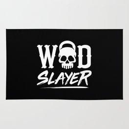 WOD Slay er Skull Rug
