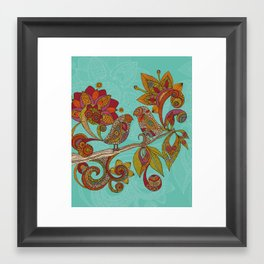 Hello Birds Framed Art Print