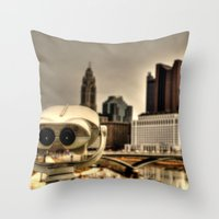 wall e Throw Pillows featuring Wall E? by BradBrunstetter