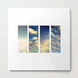 coton nuage Metal Print
