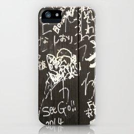 Urban wall iPhone Case