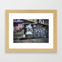 Ghetto Dystopia Framed Art Print