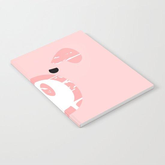 Cute Pink Pig face Notebook