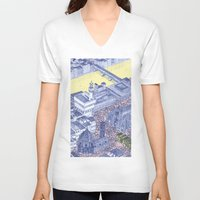 florence V-neck T-shirts featuring Florence by Dylan Davis